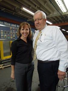 Frank Eberl Celebrates 50th Work Anniversary at Eberl Iron Works
